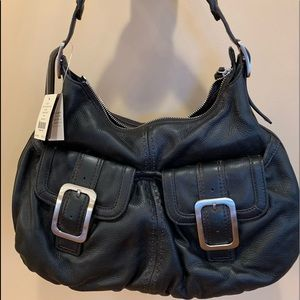 New with tags Cole  Haan small black hobo bag
